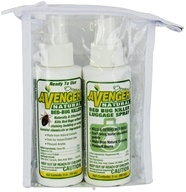 Image of Avenger Organics - Travel Ready BuddyPak Bed-Bug Killer & Luggage Spray Kit 2 x 3 oz. Bottles