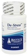 Biotics Research - De-Stress - 30 Capsules - $28.30