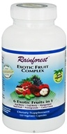 Rainforest - Exotic Fruit Complex - 120 Vegetarian Capsules