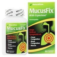 NaturalCare - MucusFix With Expectase - 60 Vegetarian Capsules