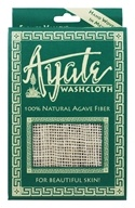 Flower Valley - Ayate Hand-Woven Natural Agave Washcloth, from category: Personal Care