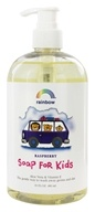 Rainbow Research - Liquid Soap For Kids Aloe Vera & Vitamin E Raspberry - 16 oz. by Rainbow Research