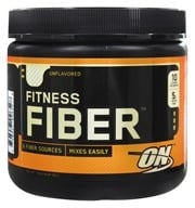 Optimum Nutrition - Fitness Fiber Unflavored - 6.87 oz. by Optimum Nutrition