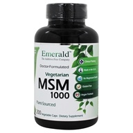 Image of Ultra Botanicals - MSM Joint Support Vegetarian 1000 mg. - 200 Vegetarian Capsules