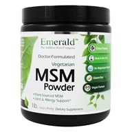 Ultra Botanicals - MSM Powder Joint Support - 1 lb.