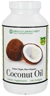 Emerald Labs - Coconut Oil Extra Virgin - 240 Softgels, from category: Nutritional Supplements