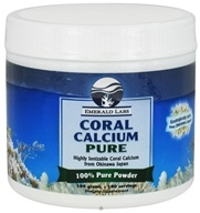 Emerald Labs - Coral Calcium Pure 100% Pure Powder - 180 Grams (743650002146)