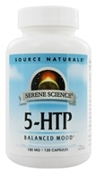 Serene Science 5-HTP for Balanced Mood 100 mg. - 120 Capsules