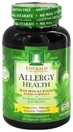 Image of Emerald Labs - Allergy Health Raw Whole-Food Based Formula - 120 Vegetarian Capsules