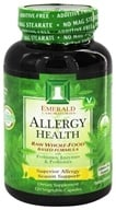Emerald Labs - Allergy Health Raw Whole-Food Based Formula - 120 Vegetarian Capsules (743650002283)