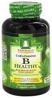 Image of Emerald Labs - B Healthy Raw Whole-Food Based Formula - 60 Vegetarian Capsules