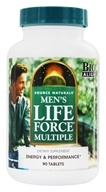 Source Naturals - Men's Life Force Multiple - 90 Tablets (021078019190)
