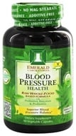 Emerald Labs - Blood Pressure Health Raw Whole-Food Based Formula - 90 Vegetarian Capsules (743650002238)