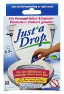Image of Just A Drop - Personal Odor Eliminator Bathroom Odor Control Eucalyptus - 0.5 oz.