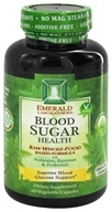 Emerald Labs - Blood Sugar Health Raw Whole-Food Based Formula - 60 Vegetarian Capsules (743650002160)