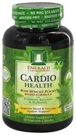 Emerald Labs - Cardio Health Raw Whole-Food Based Formula - 90 Vegetarian Capsules (743650002269)