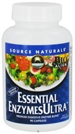 Source Naturals - Essential Enzymes Ultra - 90 Vegetarian Capsules (021078023319)