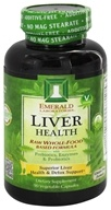 Emerald Labs - Liver Health Raw Whole-Food Based Formula - 90 Vegetarian Capsules (743650002184)