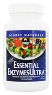 Source Naturals - Essential Enzymes Ultra - 120 Vegetarian Capsules (021078023326)