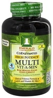 Emerald Labs - Multi Vit-A-Min Raw Whole-Food Based Formula - 120 Vegetarian Capsules (743650002221)