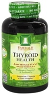 Emerald Labs - Thyroid Health Raw Whole-Food Based Formula - 60 Vegetarian Capsules (743650002245)