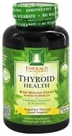 Emerald Labs - Thyroid Health Raw Whole-Food Based Formula - 60 Vegetarian Capsules