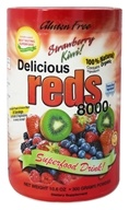 Greens World - Delicious Reds 8000 Strawberry Kiwi - 10.6 oz., from category: Health Foods