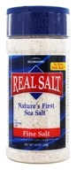 Image of Real Salt - Nature's First Sea Salt Shaker Fine Salt - 9 oz.