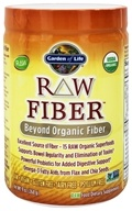 Garden of Life - RAW Fiber - 7 oz., from category: Nutritional Supplements