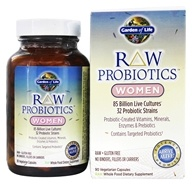 Garden of Life - RAW Probiotics Women - 90 Vegetarian Capsules, from category: Nutritional Supplements