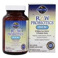 Image of Garden of Life - RAW Probiotics Men - 90 Vegetarian Capsules
