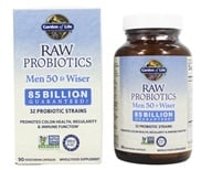 Garden of Life - RAW Probiotics Men 50 & Wiser - 90 Vegetarian Capsules - $34.97
