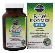 Garden of Life - RAW Enzymes Men - 90 Vegetarian Capsules - $34.97