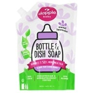 Dapple - Baby Bottle & Dish Liquid Eco-Smart Refill Pack - 34 oz. by Dapple