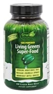 Irwin Naturals - Nutrient-Dense Greens & Greens Phyto-Food Energy - 60 Softgels
