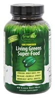 Irwin Naturals - Nutrient-Dense Greens & Greens Phyto-Food Energy - 60 Softgels by Irwin Naturals