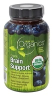 Image of Irwin Naturals - Organics Brain Support - 60 Tablets