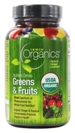 Image of Irwin Naturals - Organics Nutrient-Dense Greens & Fruits - 60 Tablets