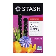 Stash Tea - Premium Caffeine Free Herbal Tea Acai Berry - 18 Tea Bags