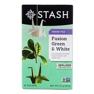 Stash Tea - Premium Fusion Green & White Tea - 18 Tea Bags (077652082685)