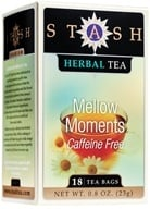 Stash Tea - Premium Caffeine Free Herbal Tea Mellow Moments - 18 Tea Bags by Stash Tea
