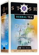 Stash Tea - Premium Caffeine Free Herbal Tea Chamomile Nights - 20 Tea Bags (077652082418)