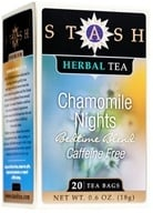 Stash Tea - Premium Caffeine Free Herbal Tea Chamomile Nights - 20 Tea Bags