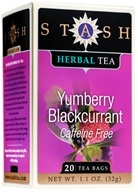 Stash Tea - Premium Caffeine Free Herbal Tea Yumberry Blackcurrant - 20 Tea Bags