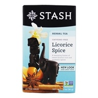 Stash Tea - Premium Caffeine Free Herbal Tea Licorice Spice - 20 Tea Bags (077652082258)