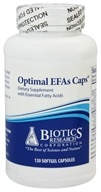 Biotics Research - Optimal EFAs Caps - 120 Capsules, from category: Professional Supplements