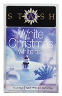 Stash Tea - Premium White Christmas White Tea - 18 Tea Bags (077652084764)