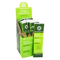 Image of Amazing Grass - Green SuperFood Energy Drink Powder Lemon Lime - 15 Packet(s)