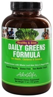 Aloe Life - Healthy & Slim Daily Greens Formula Powder - 10 oz. by Aloe Life