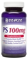 MRM - PS Phosphatidylserine 100 mg. - 60 Softgels, from category: Nutritional Supplements